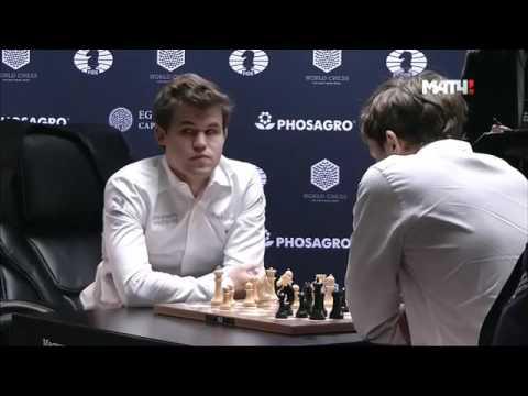 Карлсен - Карякин, тай брейк. Сергей Шипов на Матч ТВ (видео)