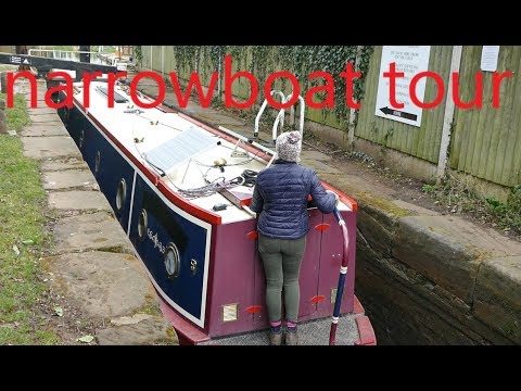 Narrowboat Tour And No Knead Bread Recipe.