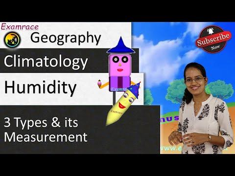 Humidity - 3 Types and its Measurement
