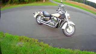 6. Riding for the second time my 09 Honda Shadow Aero