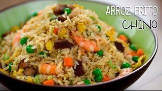 Cómo hacer arroz frito cantonés