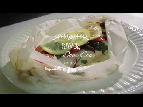 Savor Door County - Mediterranean Whitefish en Papillote