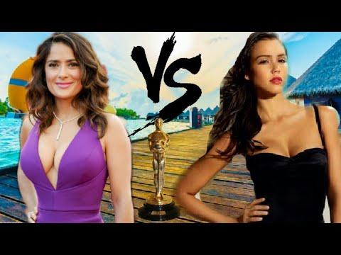 Video Salma Hayek vs Jessica Alba | Batalla de Diosas | Mexico vs EEUU | Jomanplay download in MP3, 3GP, MP4, WEBM, AVI, FLV January 2017