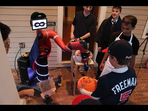 Watch a Robot Hand Out Candy
