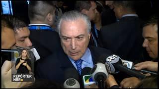 REPÓRTER NBR - 21.07.17: Presidente Michel Temer chegou na noite desta quinta-feira (20) a Mendoza, na Argentina, onde recebe a presidência temporária do Mercosul.