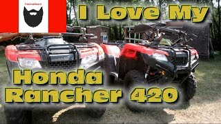 10. Five Things I Like About My Honda Rancher 420