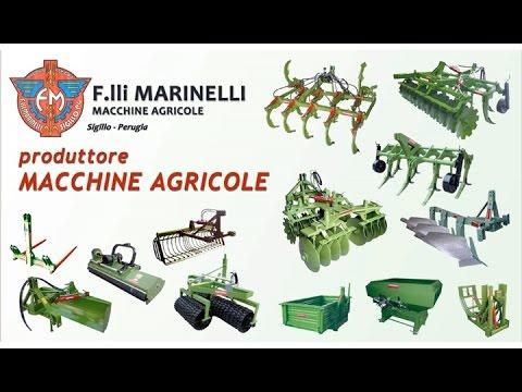 Produzione vendita macchine agricole per preparazione del terreno alla semina Marinelli Perugia