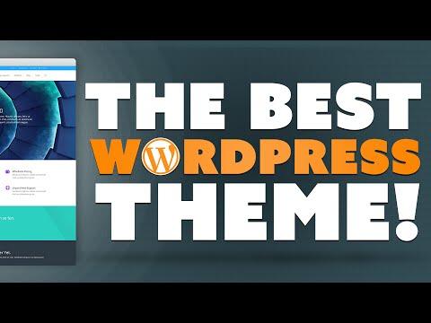The Best WordPress Theme!