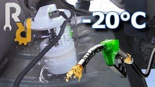 Какой РЕАЛЬНЫЙ расход топлива на прогреве (холостом ходу) в -20