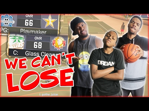 NBA 2K17 MyPark - WE CAN'T LOSE TO THEM! (видео)