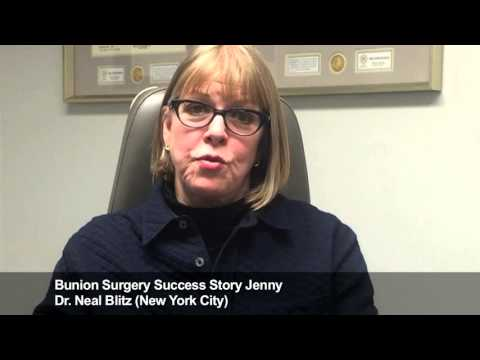 Jenny: Bunion Surgery