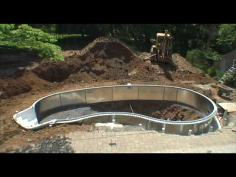 Swimming Pool Construction Time Lapse