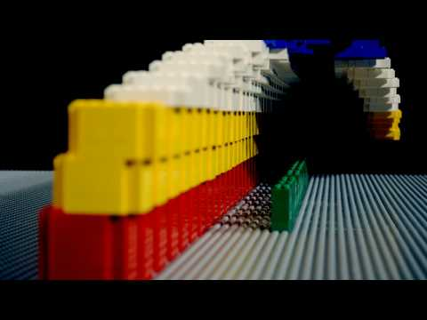 由樂高一格一格拍照製成的8-bit影片,超有創意!