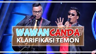 Video WAWANCANDA KLARIFIKASI TEMON MP3, 3GP, MP4, WEBM, AVI, FLV Mei 2019