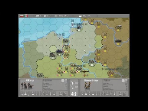 COMMANDER EUROPE AT WAR !! Super Jeu de Stratégie Et NEUF DS