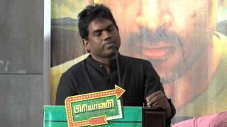 I was under pressure to give my best in my 100th movie Yuvan Shankar raja Biriyani movie