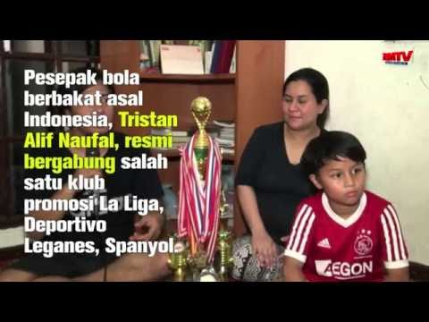 Pesepak bola Indonesia, Tristan Alif, resmi bergabung klub promosi La Liga