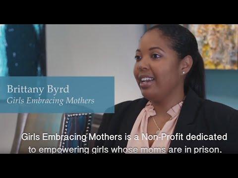Good Works Under 40-Brittany Byrd Girls Embracing Mothers