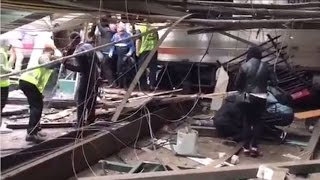 Hoboken (Nj) United States  city photo : Immediate aftermath of NJ Transit crash in Hoboken