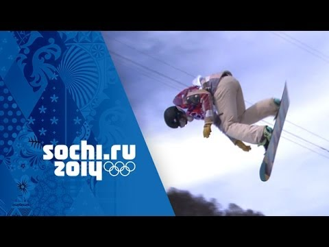 Kelly Clark Qualifies With Olympic Record 95.00 Halfpipe Score | Sochi 2014 Winter Olympics