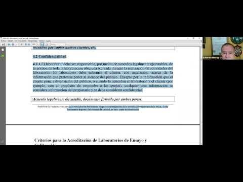 Interpretación de la norma ISO 17025:2017, módulo I, sesión 3, parte 2.