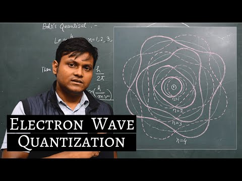 Electron Wave in Bohr Model of Atom!! (Quantization)