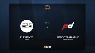 Elements Pro Gaming vs ProDota Gaming, Game 1, Dota Summit 7, EU Pre-Qualifier
