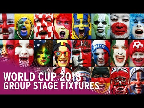 World Cup 2018: Date, Time, Venue & TV Channel For EVERY Group Match