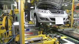 New Mercedes Benz B-Class Production 2009