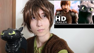 Video Hiccups Reaction - HOW TO TRAIN YOUR DRAGON 3 TRAILER (GIVEAWAY PRIZE) MP3, 3GP, MP4, WEBM, AVI, FLV Juni 2018