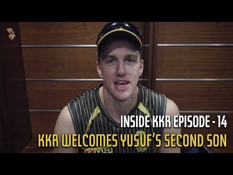 KKR Welcomes Yusuf's Second Son | Inside KKR - Episode 14 | VIVO IPL 2016
