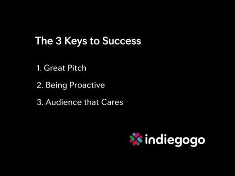 Keys to Crowdfunding Success: by Indiegogo Founder Danae Ringelmann