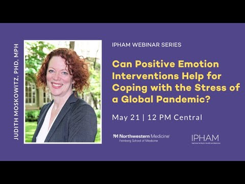 Can Positive Emotion Interventions Help for Coping with the Stress of a Global Pandemic?