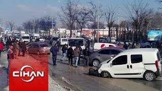 Bursa'da zincirleme kaza: 100'den fazla araç birbirine girdi