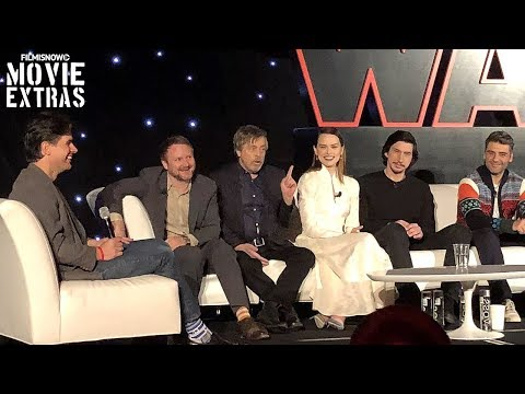 Star Wars: The Last Jedi   Complete Press Conference with cast & director