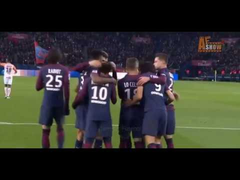 Paris Saint Germain vs Montpellier 4-0 All Goals and Highlights 27 January 2017