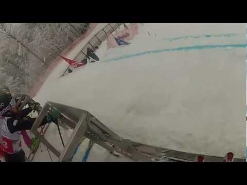 skicross russia sochi W杯プレオリンピック