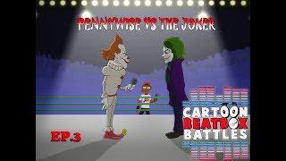 Pennywise VS The Joker - Cartoon Beatbox Battles