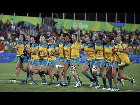 Ρίο 2016: Ιστορικό «χρυσό» για την Αυστραλία στο ράγκμπι γυναικών