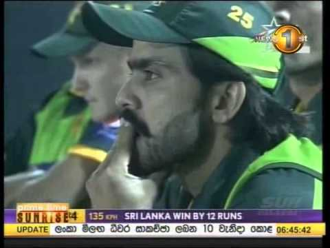 1st T20, Australia in Sri Lanka, 2011 - Highlights