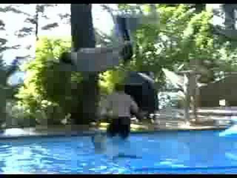 gymnastics coach diving bloopers