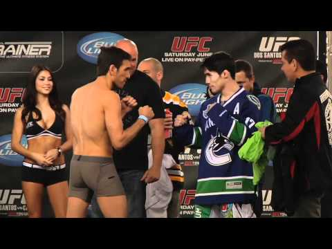 UFC 131 Weigh in Highlight: Florian v. Nunes