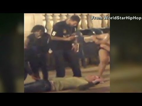 Savage beating, robbery caught on tape