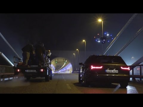 BTS Big Race Drone in Tunnel for Audi [Exclusive]