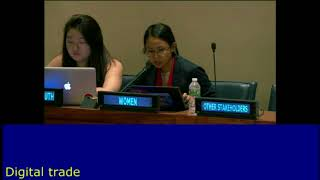 Ana Celestial's intervention at the HLPF 2016: http://webtv.un.org