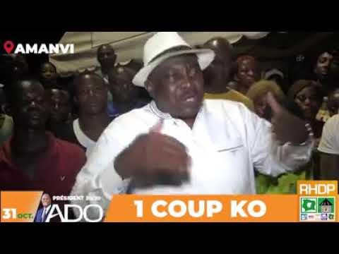 COTE D' IVOIRE : Affaire ''il y aura la transition en Côte d'Ivoire '' Voici la réponse d'Adjoumani à Madame Gbagbo