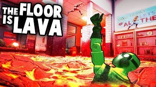 Coolest Intro to a Game EVER!!  The Floor is Lava Challenge (Hot Lava Gameplay Part 1)