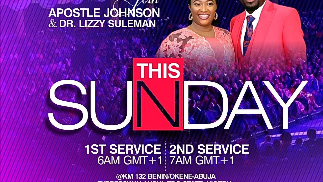 Sunday Service 31st January 2021 with Apostle Johnson Suleman at Omega Fire Ministries