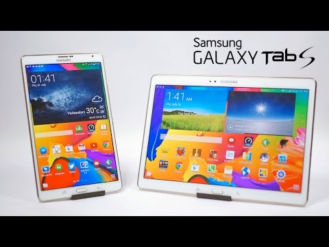 Display - This is my video review of the Galaxy Tab S (8.4 & 10.5) from Samsung. Both these tablets are powered by the Exynos 5420 Octa Core chipset (or Snapdragon 800 dependant on the region) with...