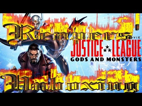 Justice League Gods And Monsters Blu-Ray Unboxing